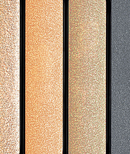 Les cinq palettes automnales