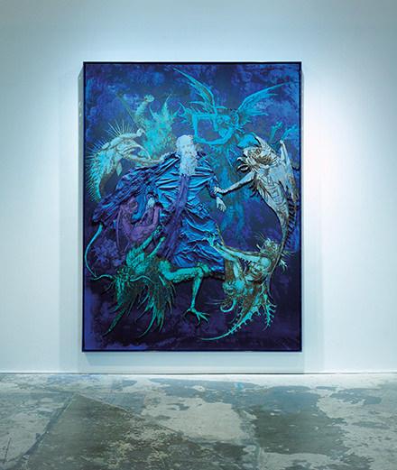 "L'exposition ""New American Art"" au Studio des Acacias"