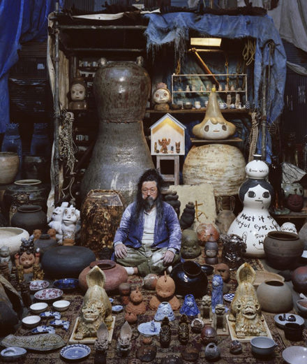 Portfolio: Takashi Murakami exhibits his personal collection of ceramics