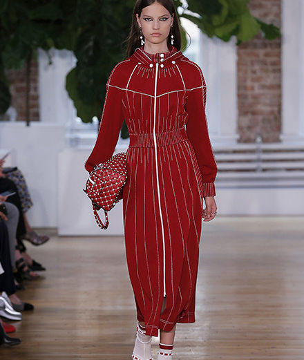 Le défilé Valentino Resort 2018 à New York