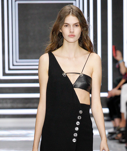 Versus Versace fashion show: interview with Anthony Vaccarello