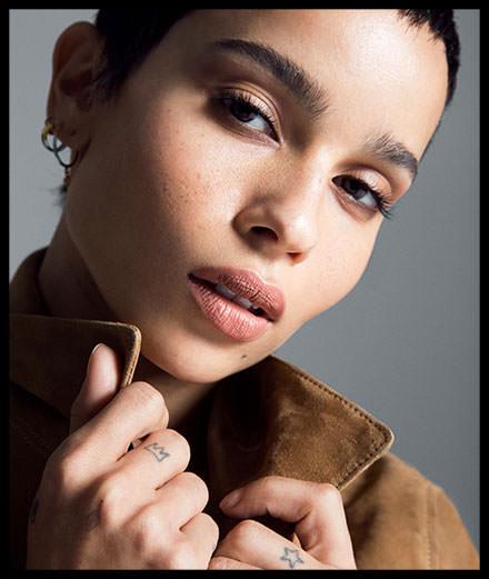 Zoë Kravitz, nouveau visage du parfum Black Opium