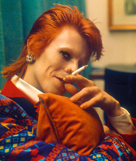 Legendary shots of David Bowie by Mick Rock