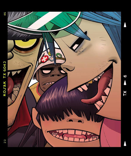 Discover the list of collaborations on the next Gorillaz album
