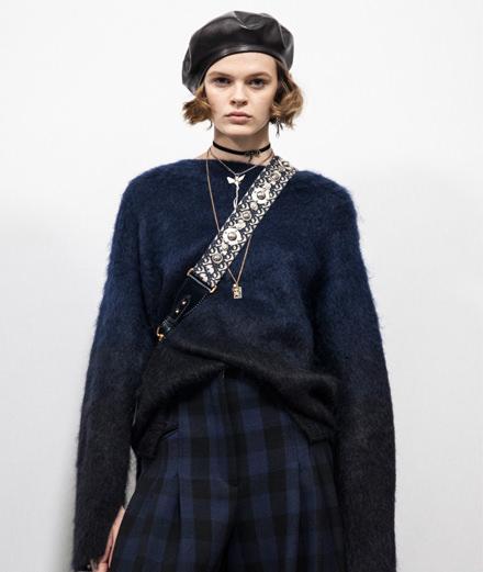 Backstage : le défilé Dior automne-hiver 2017-2018 vu par Mehdi Mendas