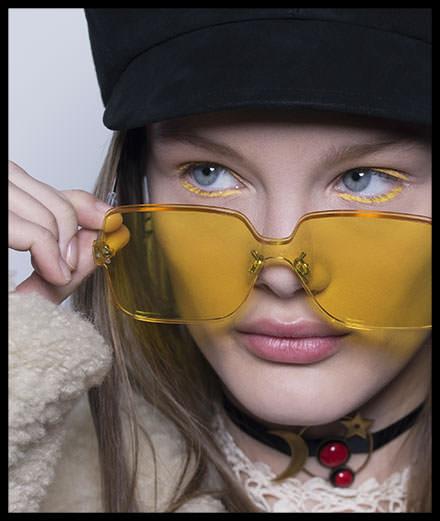 Backstage: le maquillage du défilé prêt-à-porter Dior automne-hiver 2018-2019
