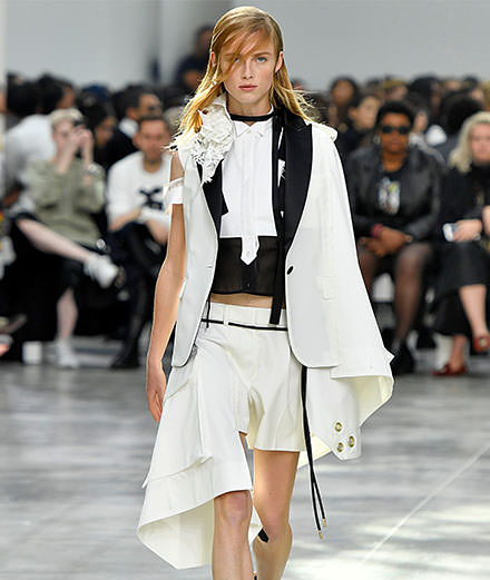 Sacai Spring-Summer 2019 fashion show