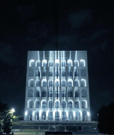 Fendi invite un pionnier de l'art digital à métamorphoser son Palazzo romain