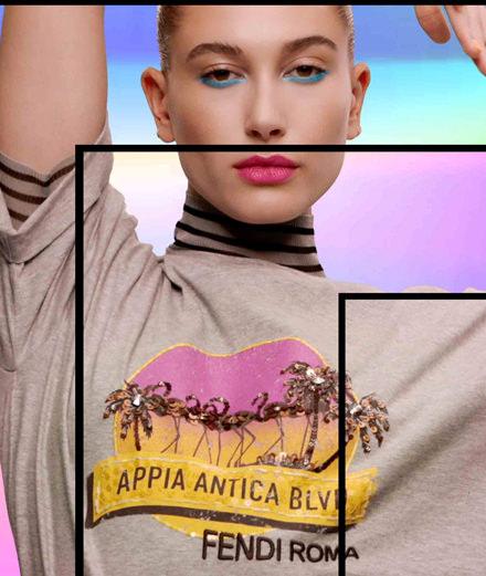 """L'objet du jour : le t-shirt """"Pop Tour"""" de Fendi"""