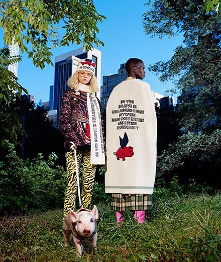 Gucci x Les Trois Petits Cochons, la collab qui célèbre le Nouvel An Chinois