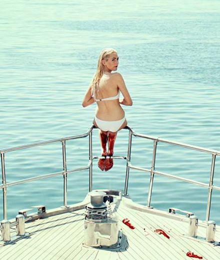"""Holiday"" le thriller sexuel et provocant d'Isabella Eklöf"