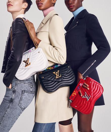 """Louis Vuitton dévoile une nouvelle ligne de sacs """"new wave"""""""