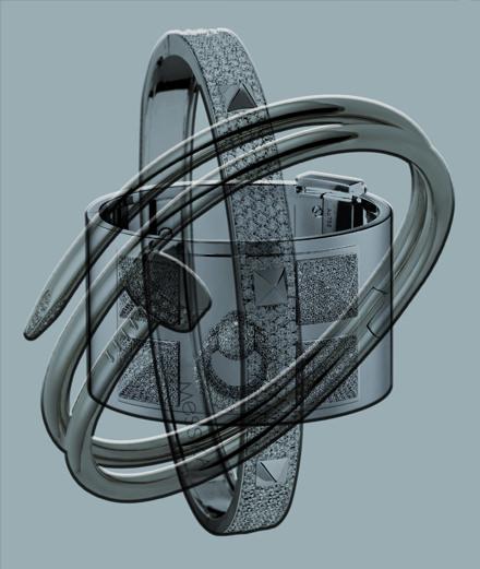 La joaillerie cloutée de Cartier, d'Hermès et de Messika.