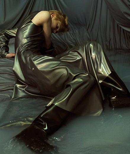 "La série mode ""Métempsycose"", par Katja Mayer"