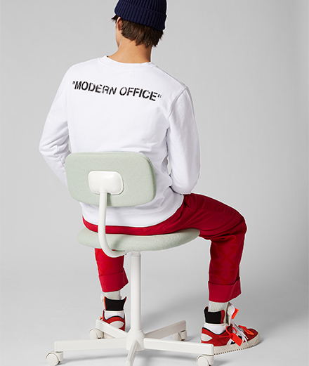 Mr Porter x Off-White, la collab qui redéfinit l'uniforme de travail