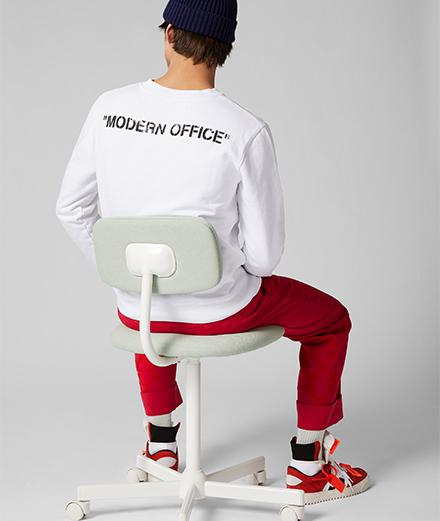 Mr Porter x Off-White, la collab qui redéfinit l'uniforme de travail