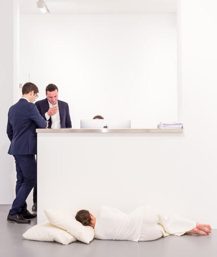 Quand l'héritier d'une dynastie de marchands d'art ouvre une galerie où rien n'est à vendre (pour le moment)
