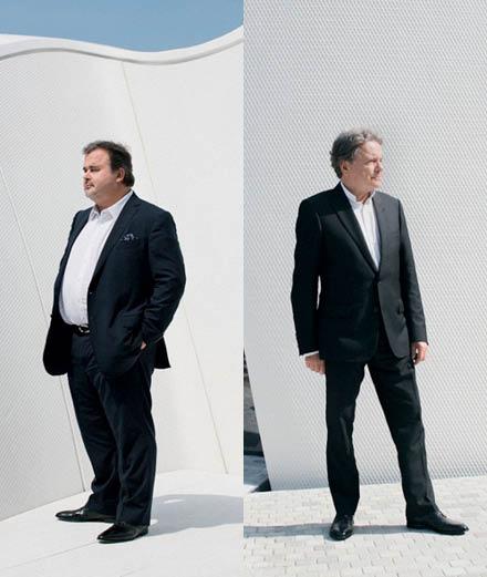 ILS ONT FAIT 2015: rencontre entre l'architecte Christian de Portzamparc et le pâtissier Pierre Hermé