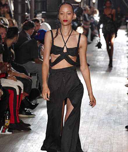 Shayne Oliver's first collection for Helmut Lang