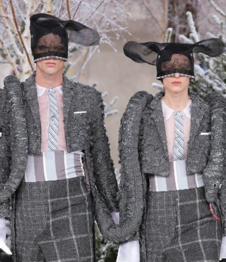 Le défilé Thom Browne automne-hiver 2020-2021