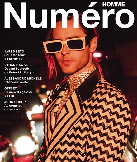 Exclusif : l'acteur Jared Leto par Jeff Burton en couverture du nouveau Numéro Homme