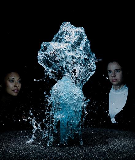 Les spectres lumineux de l'artiste Olafur Eliasson à la Tate Modern