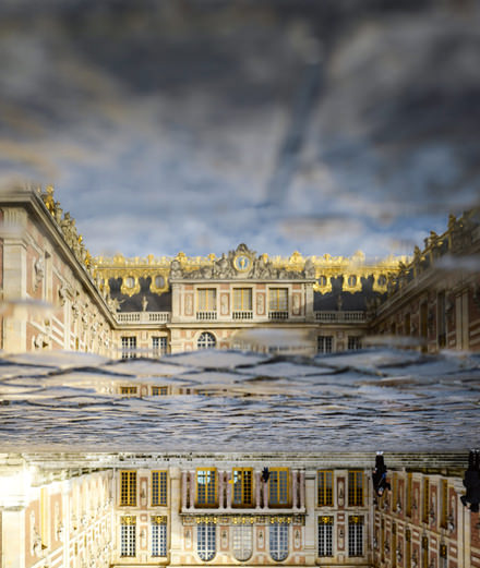Avant-première : l'artiste Olafur Eliasson inonde Versailles