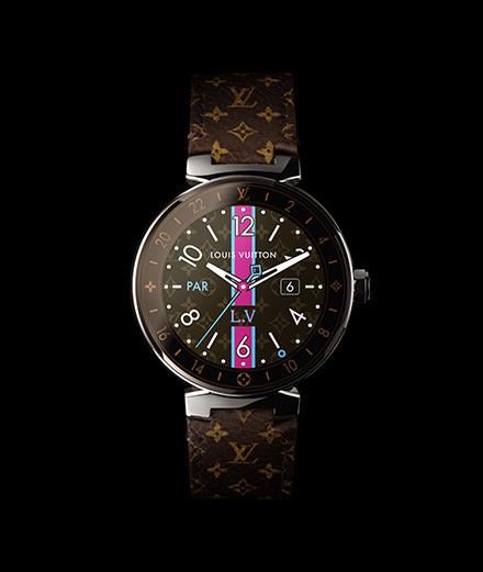 Objet du jour : la première montre connectée de Louis Vuitton