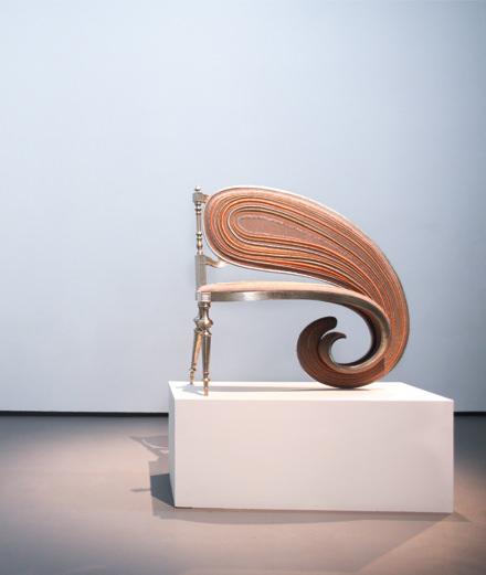 Le designer Sebastian Brajkovic transcende les formes à la Carpenters Workshop Gallery