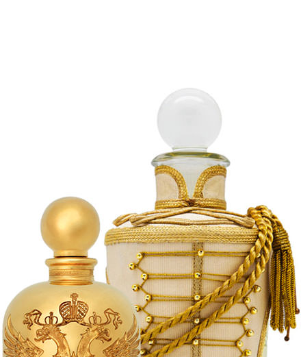 All dressed up for Christmas: winter collection perfume bottles
