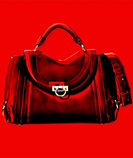 Fetish object of the week : the Soft Sofia Saddle bag from Ferragamo
