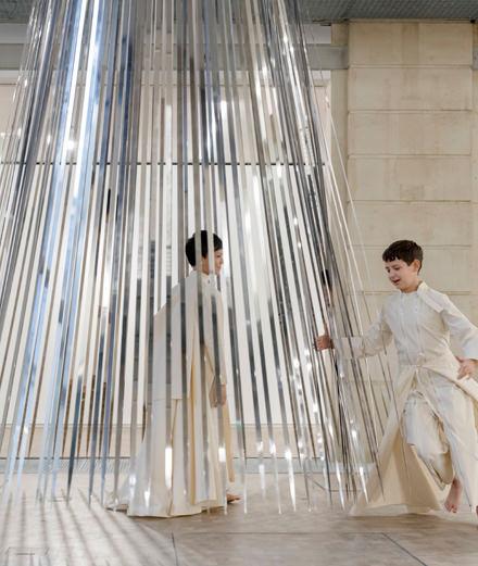 La performance de la semaine : Tarik Kiswanson à la fondation des Galeries Lafayette