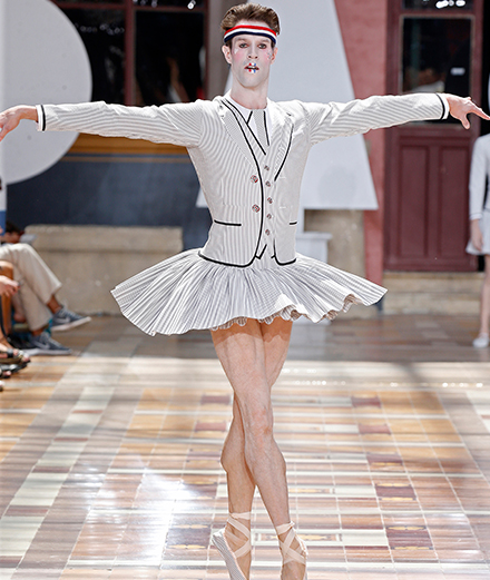 Video: Thom Browne Men Spring-Summer 2020 fashion show