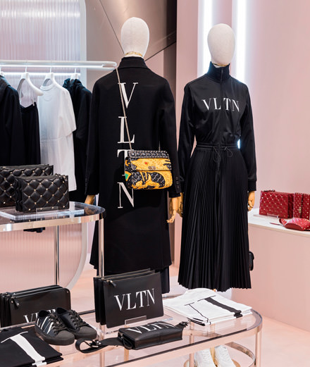 Après Jeremy Scott, le Printemps invite Valentino dans un pop-up store