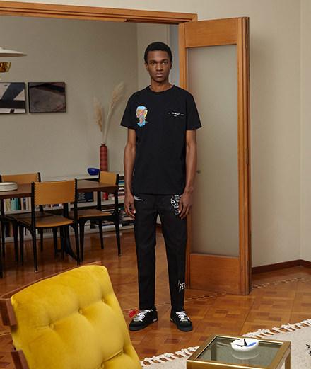 Virgil Abloh rend hommage à Basquiat avec une collection capsule