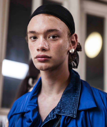 Backstage : Y/Project men spring-summer 2019 fashion show seen by Mehdi Mendas