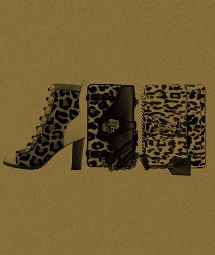 Saint Laurent, Bottega Veneta et Christian Louboutin : découvrez notre sélection d'accessoires à imprimé léopard