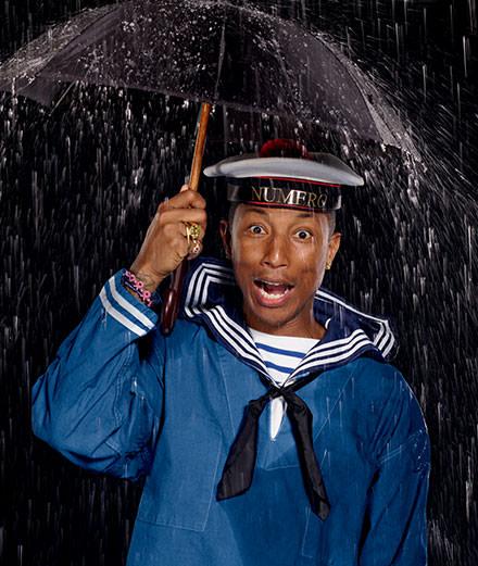 Pharrell Williams par Jean-Paul Goude