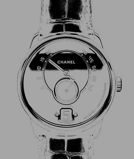 The Monsieur watch by Chanel