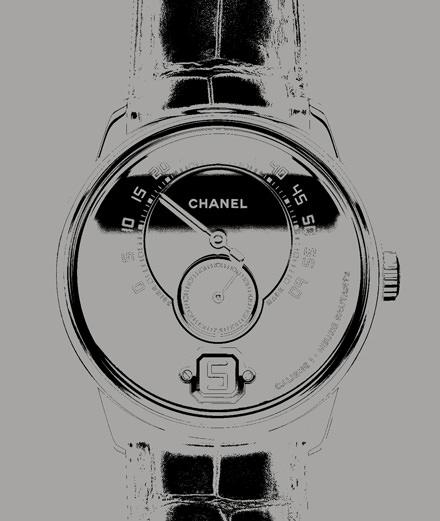La montre Monsieur de Chanel