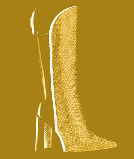 L'objet fétiche de la semaine : la botte haute Pokerface Louis Vuitton