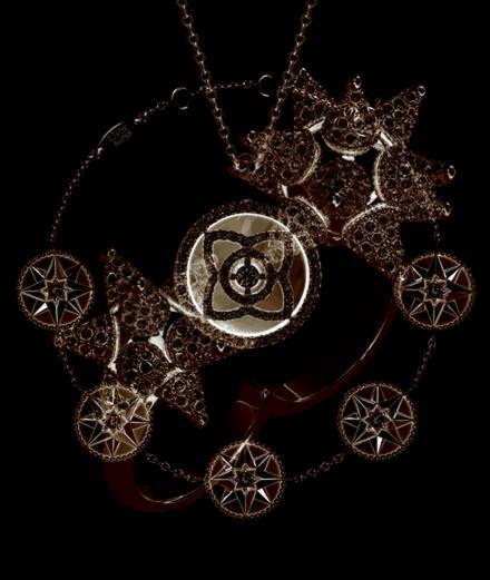 Les bijoux rosace signés De Beers, Dior et Swarovski