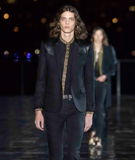 Saint Laurent men spring-summer 2019 fashion show