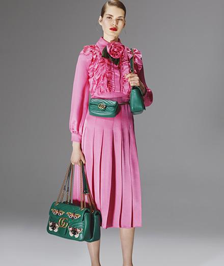 La collection capsule de Gucci pour le Printemps Haussmann