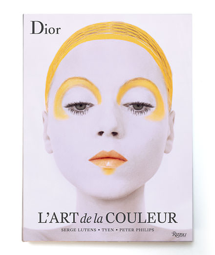 The chock of color in Dior make-up art, THE book