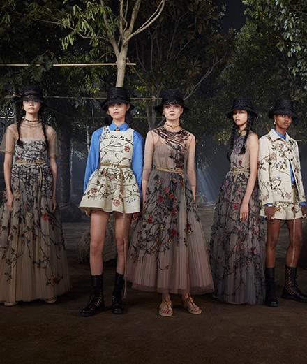 Vidéo exclusive : la danse classique s'invite défilé Dior