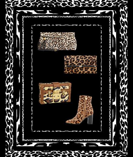 Les accessoires de la rentrée s'habillent de motifs léopard