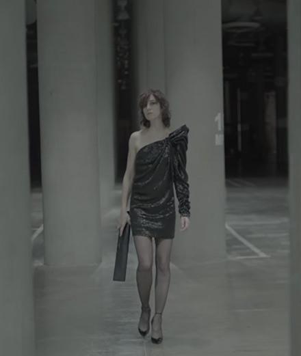 Charlotte Gainsbourg, nouvelle muse d'Anthony Vaccarello chez Saint Laurent