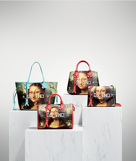 So how does the incredible Louis Vuitton x Jeff Koons collaboration look?