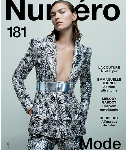 Emmanuelle Seigner, Christopher Bailey, sublime Couture... Discover the contents of Numéro's fashion special for March 2017